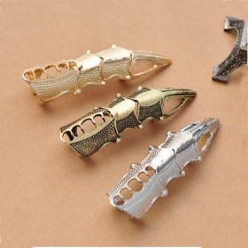 Punk Style Vintage Chic Long Band Ring