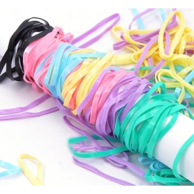Fashion Simple Colorful Ponytail Holder