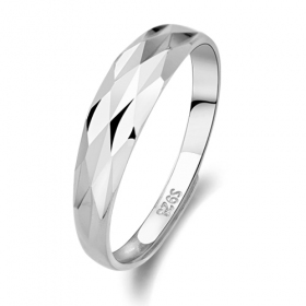 Exquisite Simple Silver Band Ring