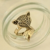 Cute Fox Vintage Lovely Big Animal Rings Jewelry
