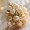 Personalized Pearl Ball Style Chic Elegant Long Chain Necklace