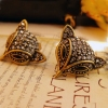 Vintage Alloy Fox Trendy Ladies' Simple Stud Earrings
