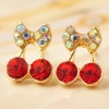 Fashion Sweet Popular Little Cherry Stud Earring