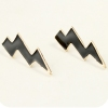 Vintage Elegant Bright Multicolor Geometrical Stud Earrings