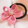 Personalized Korean Flower Style Ponytail Holders