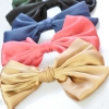 Korea Style Fashion Big Bowknot Ribbon Hair Barrettes