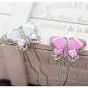 Lovely Butterfly Rhinestone Hair Pins