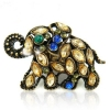 National Luxury Rhinestone Elephanat Animal Ring