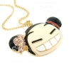 Lovely Laughing girl Pendant Necklace