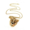 Bling Rhinestone Tiger Head Chain Necklace