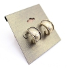 Vintage Bronze Stud Earrings