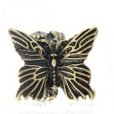 Vintage Personalized Butterfly Animal Cocktail Ring