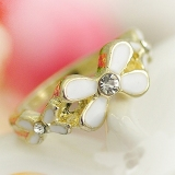Elegant Chic Flower Fashion Rings for Women