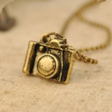 Ladies Camera Shape Vintage Chain Necklace