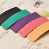 Korea Style Chic Frosted Candy Color Hair Clip