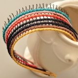 Korea Style Fashion Mental Winding Headband