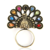 Vintage Peacock Rings For Ladies