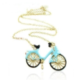 Chic Bycicle Long Chain Necklace