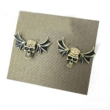 Vintage Skull Shape Fashion Stud Earrings