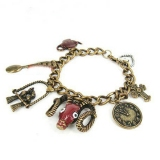 Fashion Ox-head Vintage Francs Link Bracelets for Ladies