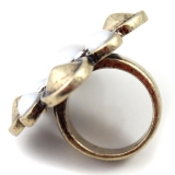 Vintage Pearl Cocktail Ring