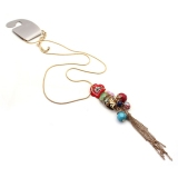 Fashion Small Flower Chain Necklace