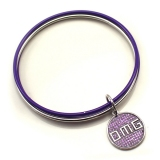 Fashion Purple Layered Bangle Bracelets