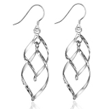 Simple Exquisite 925 Sterling Silver Drop Earring