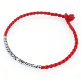 Simple Red Rope Bracelet