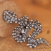 Antique Bold Fashion Rhinestone Sexy Snake Costume Jewelry Animal Rings