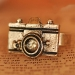 European Style Unique Antique Personalized Camera Ring