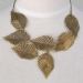 Simple Fashion Vintage Leaf Chain Necklace