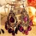Personalized Jewelry Vintage Teardrop Tassel Chandelier Earrings