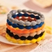Fashion Multicolor Fabric Ponytail Holder
